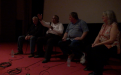 Q&A [L-R] Bob Fuller, cultural astronomer, Ghillar Michael Anderson, Euahlayi Lawman & Knowledge holder; Prof Ray Norris, CSIRO Astrophysicist; & Eleanor Gilbert, filmmaker & producer-1