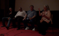 Q&A [L-R] Bob Fuller,cultural astronomer, Ghillar Michael Anderson, Euahlayi Lawman & Knowledge holder; Prof Ray Norris, CSIRO Astrophysicist; & Eleanor Gilbert, filmmaker & producer-2