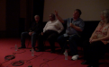 Q&A [L-R] Bob Fuller,cultural astronomer, Ghillar Michael Anderson, Euahlayi Lawman & Knowledge holder; Prof Ray Norris, CSIRO Astrophysicist; & Eleanor Gilbert, filmmaker & producer-3